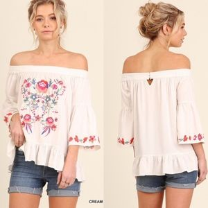 MISTY  Off Shoulder Top